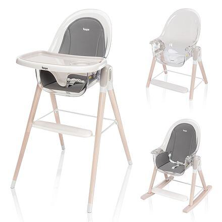 Zopa jídelní židlička Elite Grey