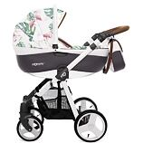 Kočárek Baby Active Mommy Summer 2019 dvojkombinace Flamingo